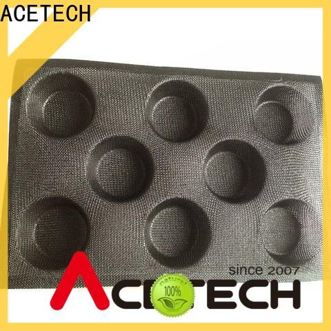 ACETECH healthy silicone cupcake molds manufacturer for cakes