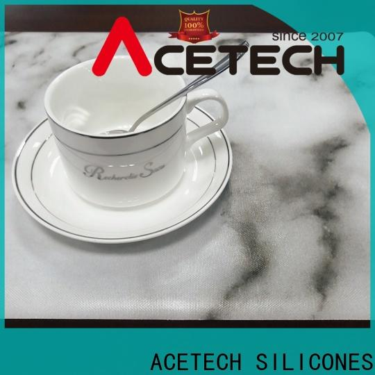 ACETECH flexible silicone placemat baby supplier for dining table