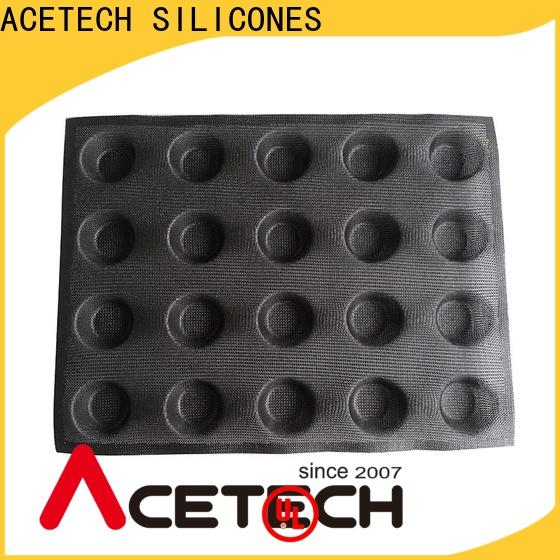 good quality silicone pastry molds perforated manufacturer for muffin