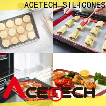ACETECH fiberglass silicone pastry mat supplier for cookie