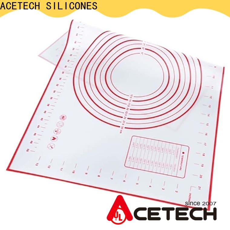 ACETECH thin silicone baking mat easy to clean for cooking
