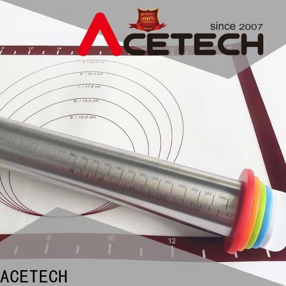 ACETECH rings steel rolling pin design for making cookies