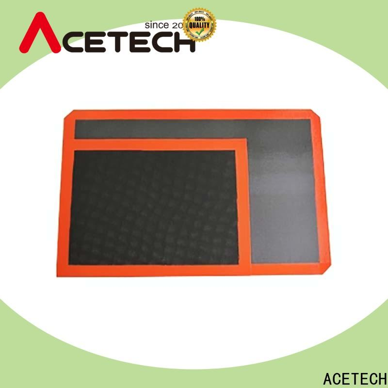 ACETECH soft silicone pastry mat easy to clean for macarons