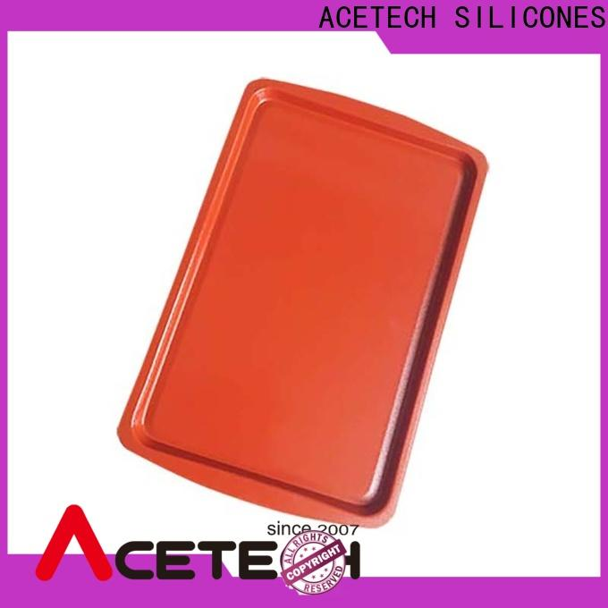 ACETECH nonstick silicone baking tray directly price for cookie