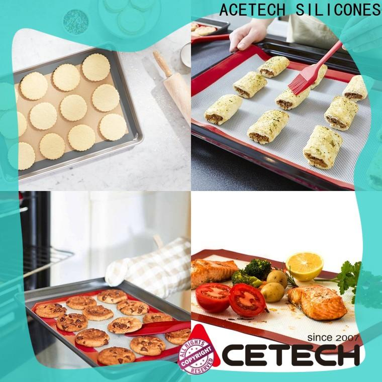 ACETECH fiberglass silicone baking mat supplier for cooking