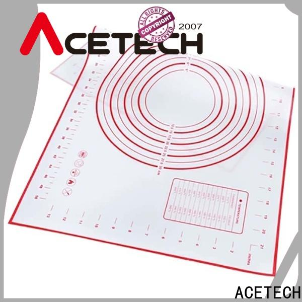 ACETECH soft non stick silicone baking mat online for cookie
