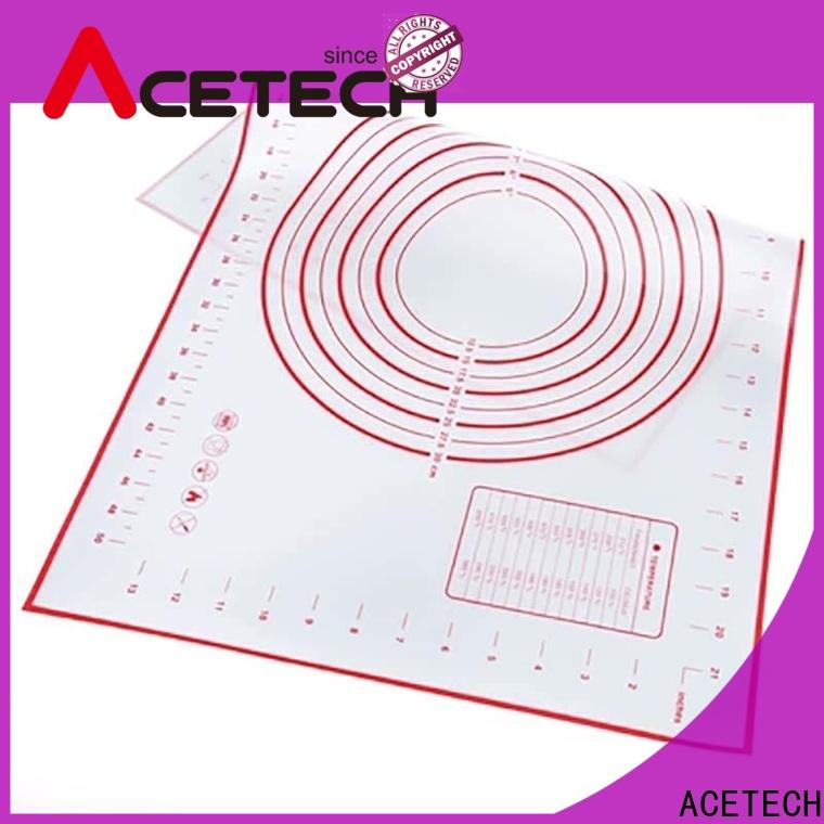 thin silicone baking mat cookie easy to clean for cooking