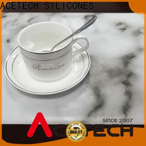 ACETECH table silicone placemat baby wholesale for kitchen