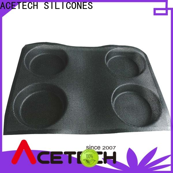 ACETECH microwave silicone dessert molds promotion for cooking
