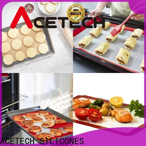 ACETECH soft silicone pastry mat factory price for cooking