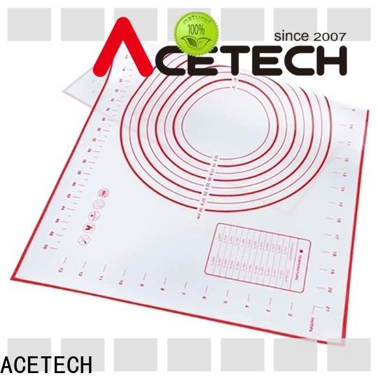 ACETECH perforated custom silicone mats factory price for cookie