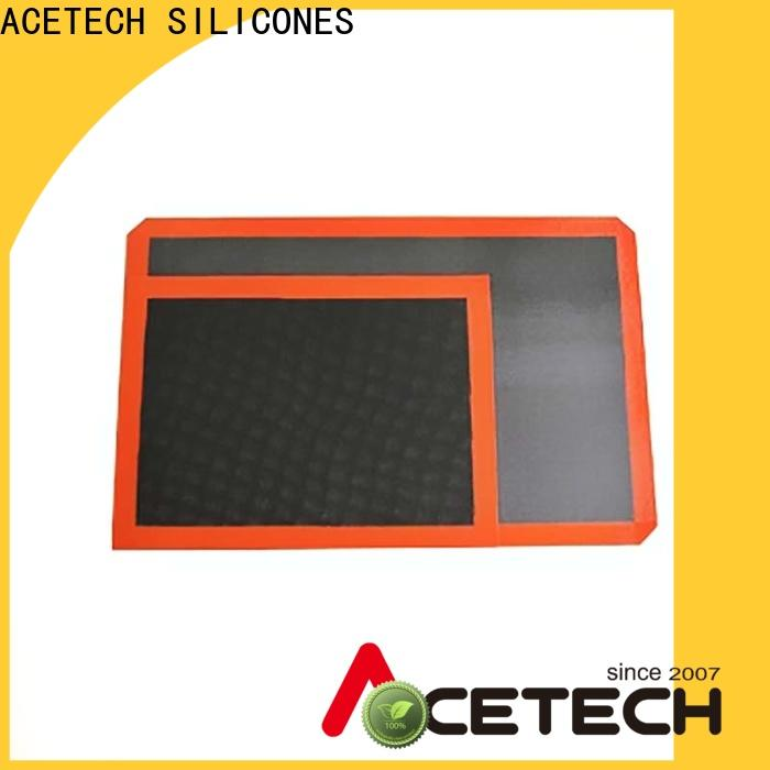 ACETECH hygienic custom silicone mats factory price for cooking