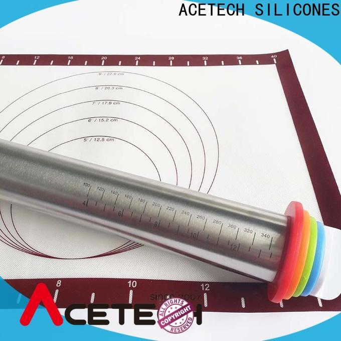ACETECH durable steel rolling pin design for noodles
