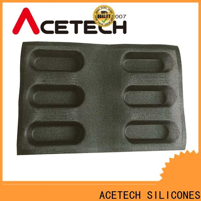 ACETECH good quality custom silicone baking molds directly price for muffin