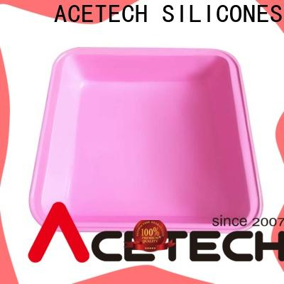 ACETECH custom silicone baking tray directly price for cake