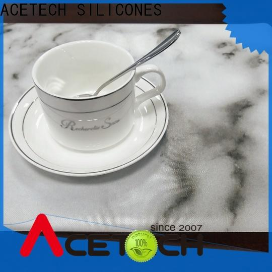 ACETECH dining silicone placemat baby factory price for kitchen