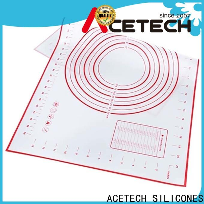 ACETECH soft silicone baking mat factory price for bread