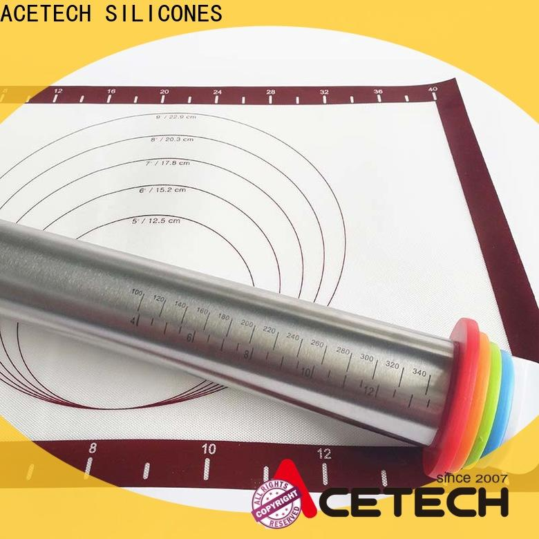 ACETECH steel rolling pin manufacturer for making cookies