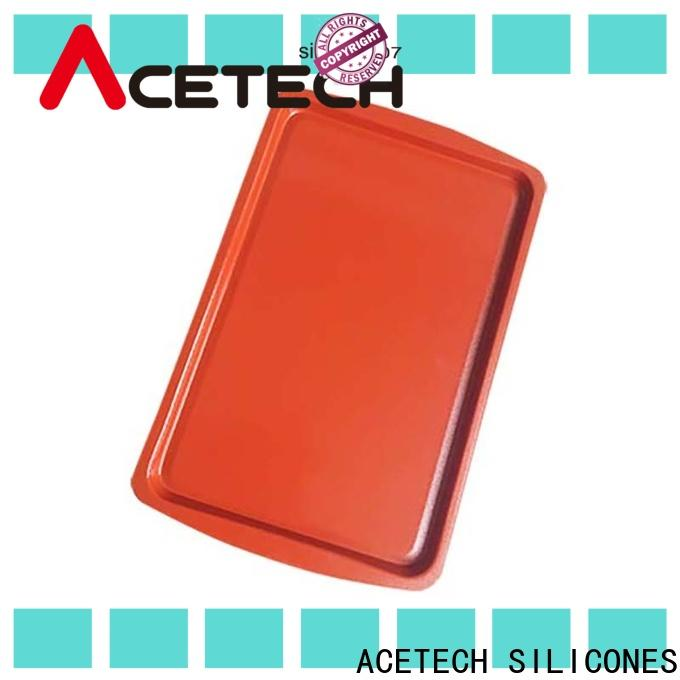 ACETECH surface silicone baking tray easy to clean for cookie