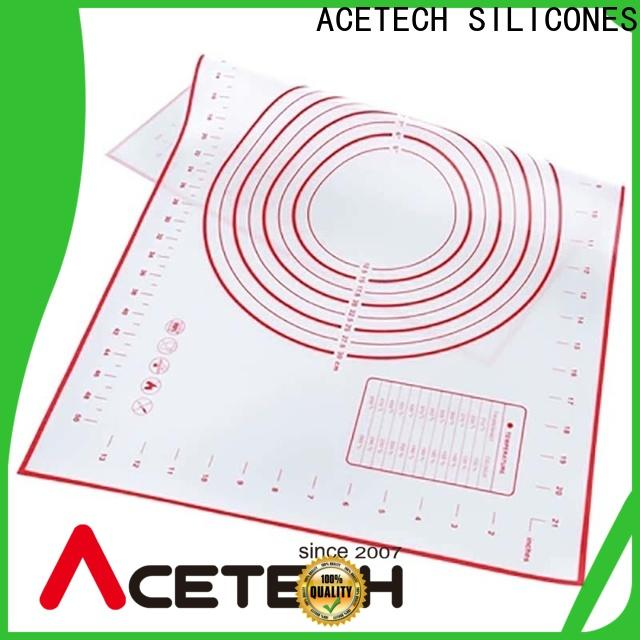 ACETECH foldable non stick silicone baking mat online for macarons