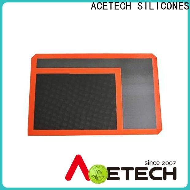 ACETECH foldable non stick silicone baking mat factory price for cookie