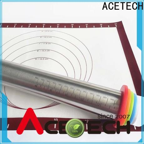 ACETECH steel stainless steel rolling pin promotion for noodles