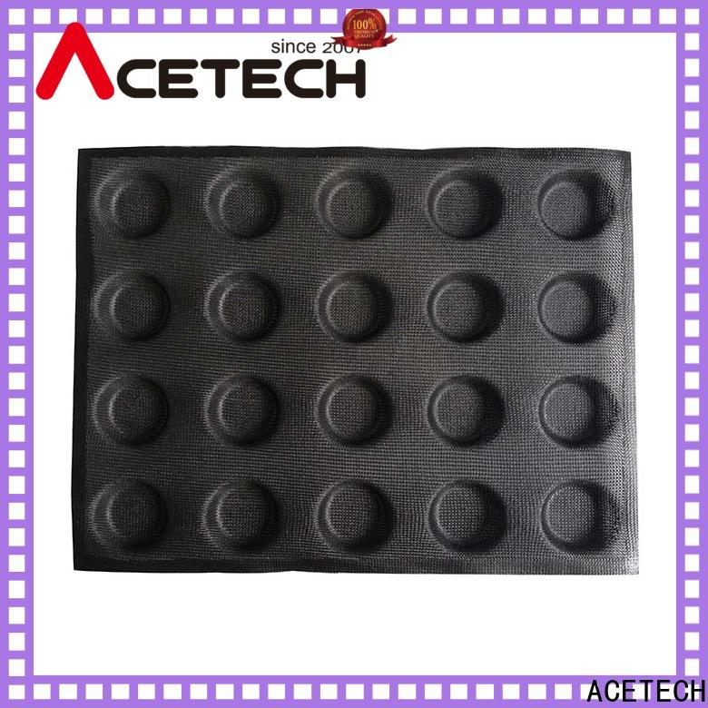 durable silicone pastry molds finger manufacturer for cakes