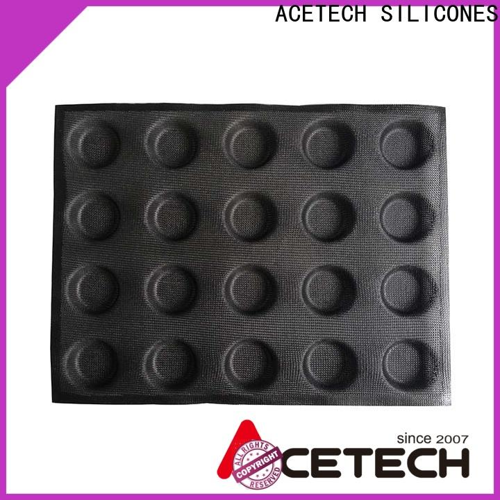 ACETECH food safe silicone cookie molds wholesale for muffin