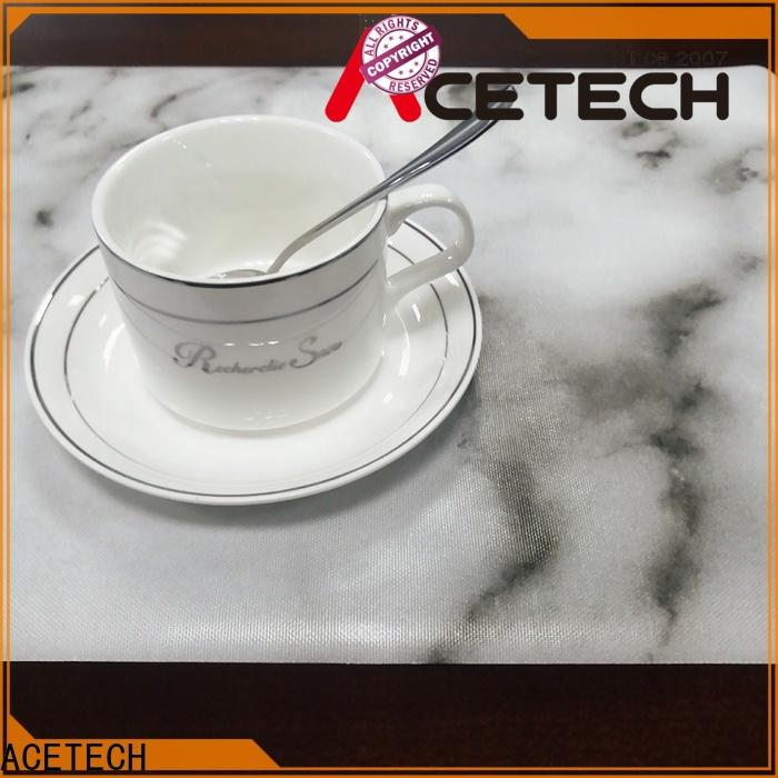 ACETECH water proof silicone placemat baby factory price for table