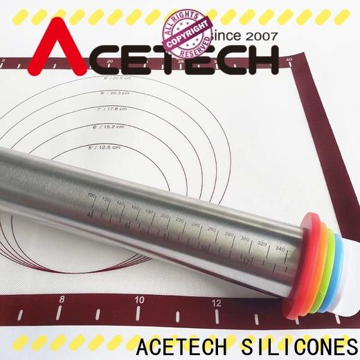 ACETECH stainless steel rolling pin promotion for noodles