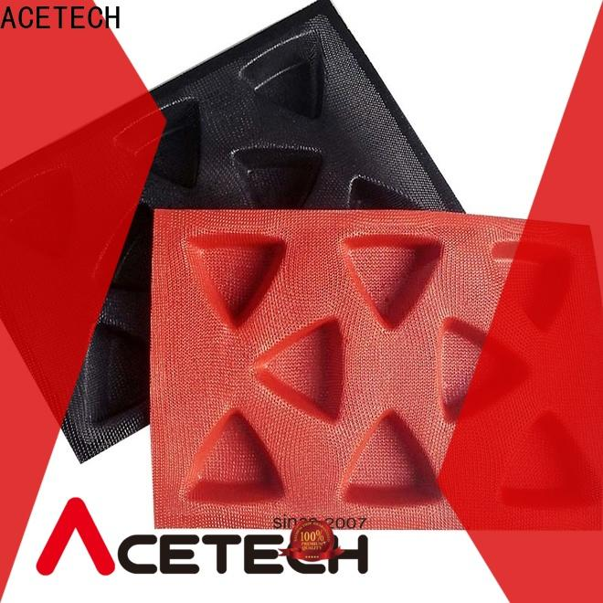 ACETECH custommade silicone cake molds manufacturer for bread
