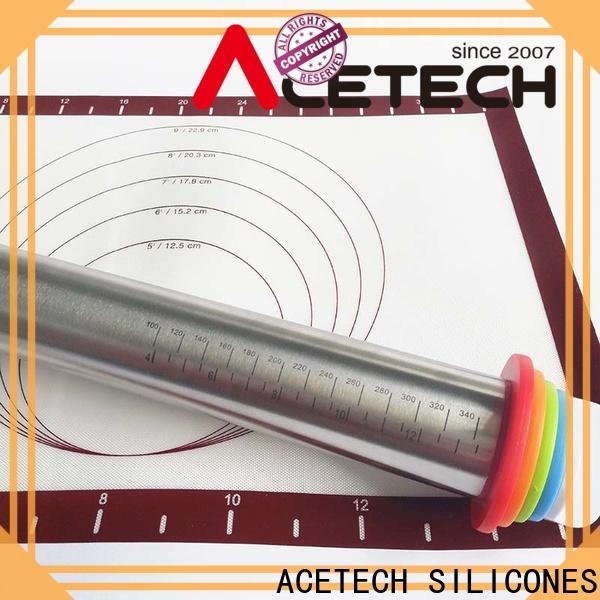 ACETECH rings stainless steel rolling pin manufacturer for making cookies