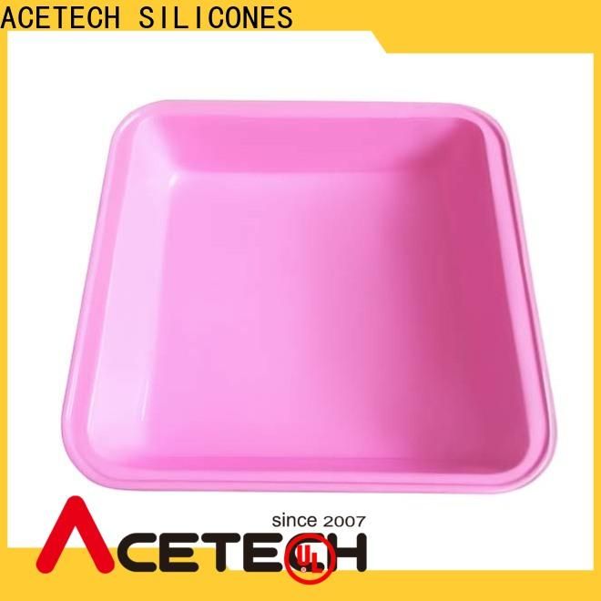 ACETECH high quality silicone baking tray supplier for muffin