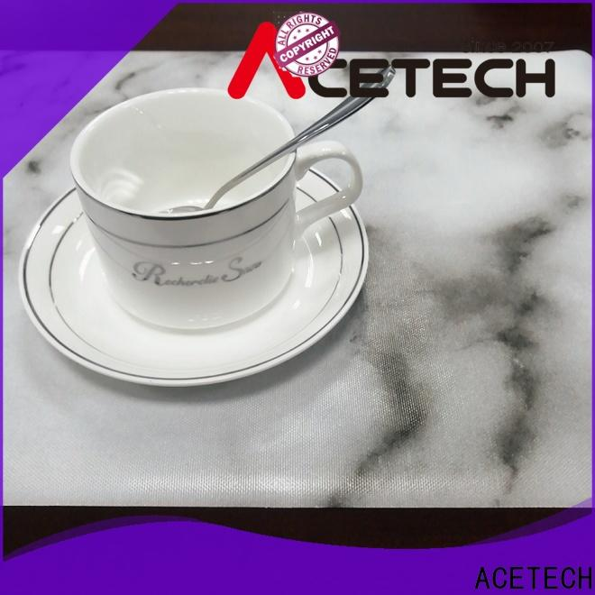flexible silicone placemat baby telfon factory price for dining table