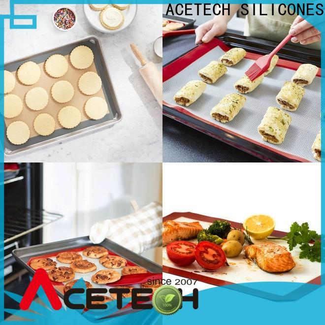 foldable custom silicone mats macarons easy to clean for cookie