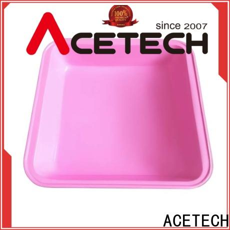 ACETECH colorful silicone sheet pan easy to clean for bread