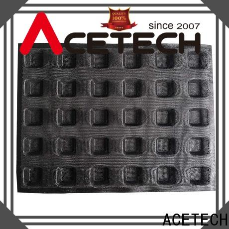 ACETECH food safe silicone cupcake molds wholesale for cakes