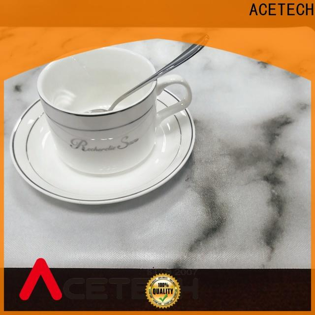 ACETECH kitchen silicone placemat baby factory price for dining table