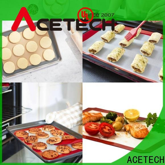 ACETECH foldable silicone baking mat supplier for bread