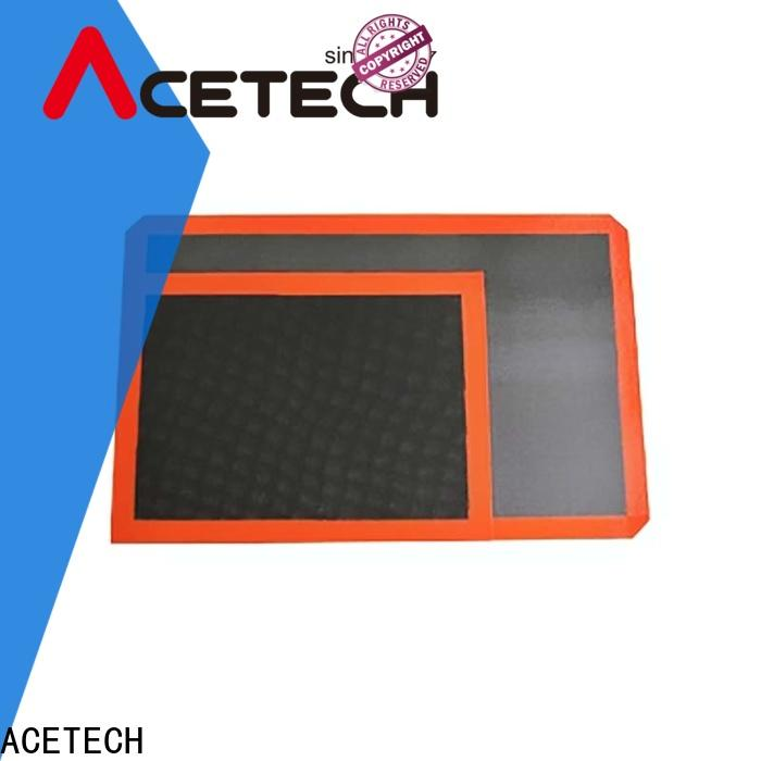 ACETECH hygienic silicone pastry mat supplier for macarons