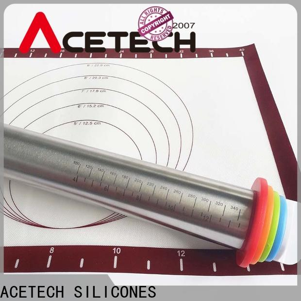 ACETECH good quality stainless steel rolling pin manufacturer for dumpling wrapper