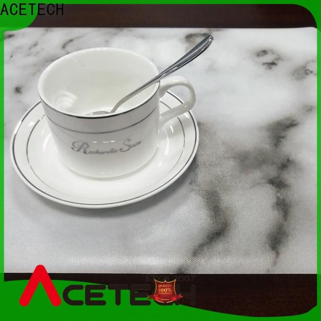 ACETECH soft silicone placemats on sale for dining table