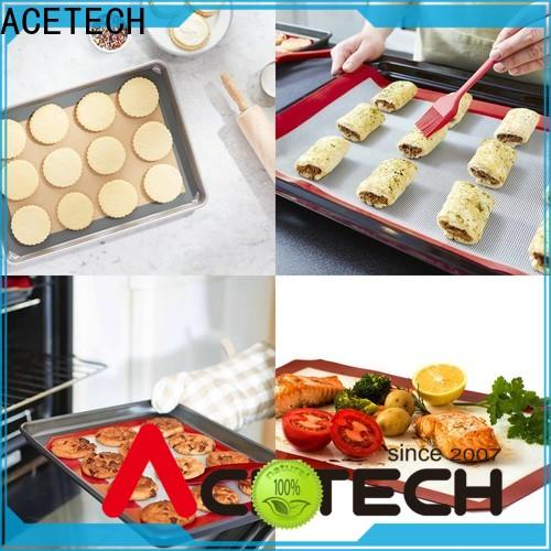 ACETECH printing silicone pastry mat easy to clean for macarons