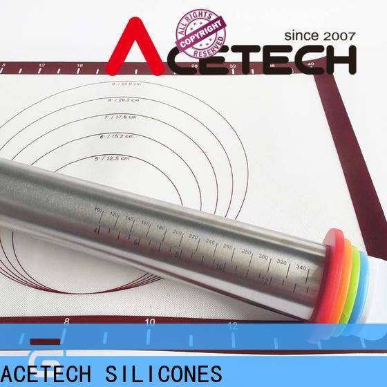 ACETECH stainless steel rolling pin online for pizza