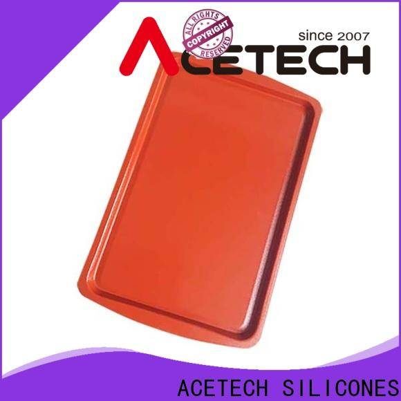 ACETECH custom silicone sheet pan easy to clean for bread