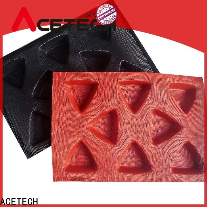ACETECH 12 silicone dessert mould manufacturer for cooking