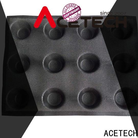 ACETECH perforated silicon bread mold wholesale for muffin