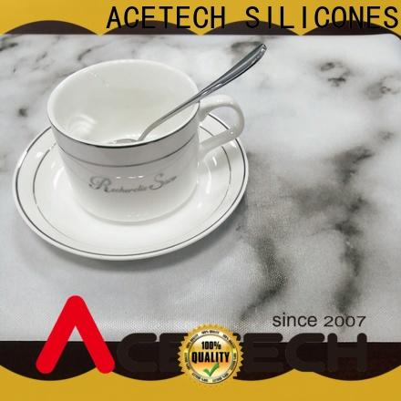 ACETECH telfon silicone placemats supplier for kitchen