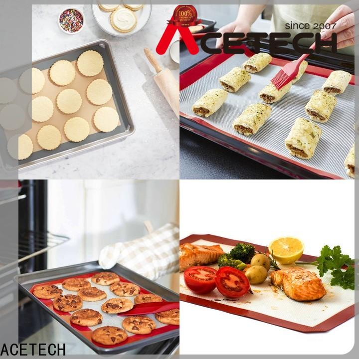 ACETECH size silicone baking mat supplier for bread
