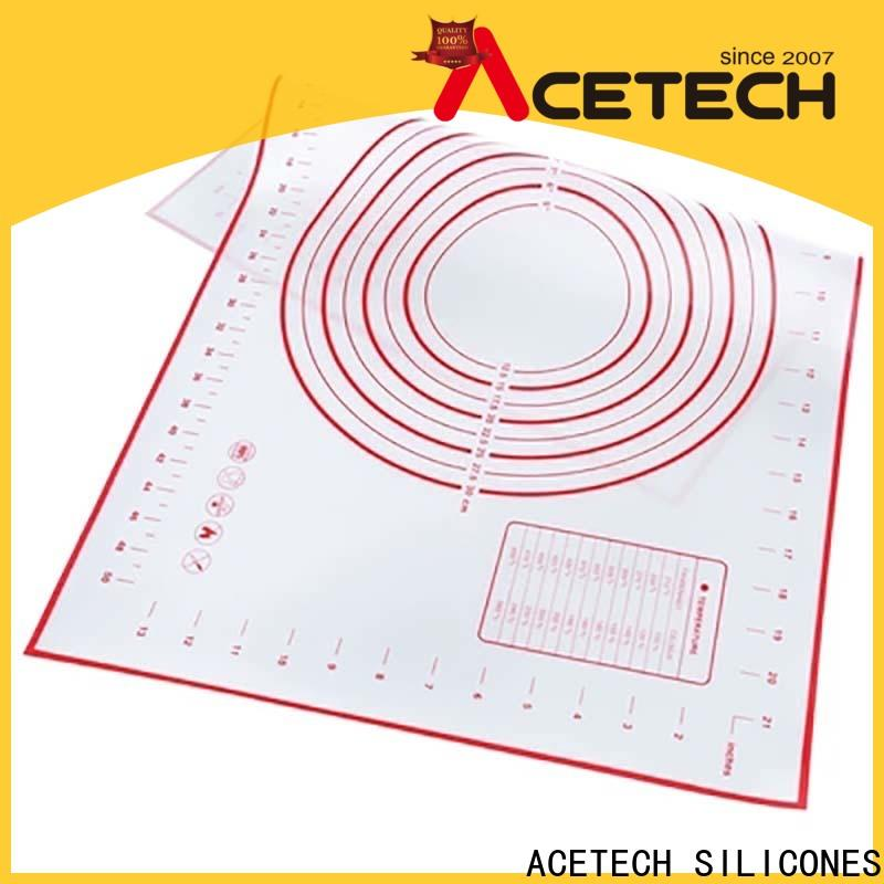 ACETECH thin silicone baking mat easy to clean for cookie